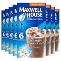 Deals List: Maxwell House International French Vanilla Iced Latte Café-Style Single Serve Instant Coffee Beverage Mix, 48 ct., 8 boxes of 6