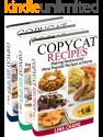 Deals List: Copycat Recipes Box Set 3 Books in 1: Making Restaurants' Most Popular Recipes at Home Kindle Edition