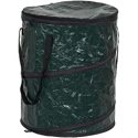 Deals List: Household Essentials 2032-1 Pop Can and Leaf Bag with Zipper Lid | Portable Yard Waste and Trash Collector | 13 Gallon