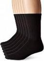 Deals List: Hanes Men's 6-Pack FreshIQ Odor Control X-Temp Comfort Cool Crew Socks