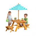 Deals List: KidKraft Outdoor Table & Bench Set with Umbrella