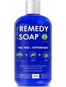 Deals List: Remedy Soap Tea Tree Oil Body Wash, Helps Body Odor, Athlete's Foot, Jock Itch, Ringworm, Yeast Infections, Skin Irritations, Shower Gel for Women/Men, Natural Mint & Aloe Skin Cleanser 12 Oz