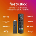 Deals List: Fire TV Stick (3rd Gen) with Alexa Voice Remote (includes TV controls) | HD streaming device