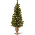 Deals List: National Tree Company Pre-lit Artificial Tree 4-ft