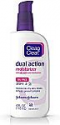 Deals List: 4 oz Clean & Clear Essentials Dual Action Facial Moisturizer