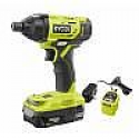 Deals List: RYOBI ONE+ 18V Cordless 1/4 in. Impact Driver Kit with 1.5 Ah Battery and Charger