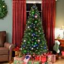 Deals List: BCP 7ft Fiber Optic Artificial Christmas Pine Tree w/ 280 Lights