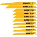 Deals List: DEWALT 10-Pack Bi-Metal Reciprocating Saw Blade Set DW4898
