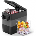 Deals List: F40C4TMP Portable Refrigerator Freezer 53 Quart 50L Truck Fridge