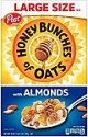 Deals List: Honey Bunches of Oats with Almonds, Heart Healthy, Low Fat, made with Whole Grain Cereal, 18 Ounce Box