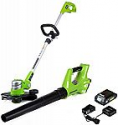 Deals List: Greenworks 24V Cordless String Trimmer and Blower Combo Pack, 2Ah Battery and Charger Included