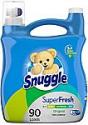 Deals List: Snuggle Plus Super Fresh Liquid Fabric Softener with Odor Eliminating Technology, 95 Fluid Ounces