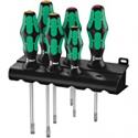 Deals List: Wera 5105650001 Kraftform Plus 334/6 Screwdriver Set w/Rack