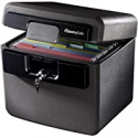 Deals List: SentrySafe HD4100 Fireproof Safe and Waterproof Safe with Key Lock 0.65 Cubic Feet