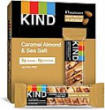 Deals List: KIND Healthy Snack Bar, Caramel Almond & Sea Salt, 5g Sugar | 6g Protein, Gluten Free Bars, 1.4 Oz, 12 Count