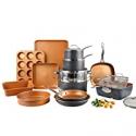 Deals List: Gotham Steel Pro Hard-Anodized 20-Piece Cookware & Bakeware Set