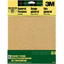 Deals List: 3M Aluminum Oxide Sandpaper, Assorted Grits, 9-in x 11-in Sheets (9005NA)
