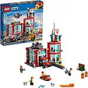 Deals List: LEGO City Fire Station 60215 Fire Rescue Tower Building Set with Emergency Vehicle Toys includes Firefighter Minifigures for Creative Play (509 Pieces)