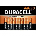 Deals List: 28-count Duracell CopperTop AA Alkaline Batteries