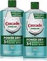 Deals List: Cascade Power Dry Dishwasher Rinse Aid, 16 Fl Oz, 2 Count