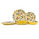 Deals List: Aidio 12-Piece Melamine Dinnerware Set, Service for 4