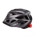 Deals List: Toonev Bicycle Helmet w/LED Light and Visor for Adult