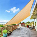 Deals List: Yufol Sun Shade Sail 8 x 10-Ft Rectangle UV Block Canopy
