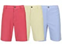 Deals List: 3-Pack Slim Fitting Flat-Front Cotton Stretch Oxford Chino Men's Shorts