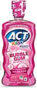 Deals List: ACT Kids AntiCavity Fluoride Rinse Children's Mouthwash, Bubblegum Blowout, Bubble Gum Blow Out, 16.9 Fl Oz