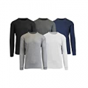 Deals List: 5-Pk GBH Mens Long Sleeve Waffle-Knit Classic Thermal Shirts