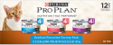 Deals List: 24-pack Purina Pro Plan Entrees in Sauce Adult Canned Wet Cat Food, 3 oz. Cans (Seafood Favorites)