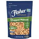 Deals List: Fisher Chefs Naturals Chopped Walnuts, Raw, Unsalted 6-Oz