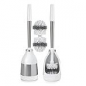 Deals List: 2 Pack Polder Toilet Brush with Caddy and Bonus Heads