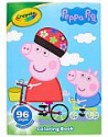 Deals List: Crayola Peppa Pig Coloring Book with Stickers, Gift for Kids, 96 Pages