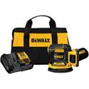 Deals List: DEWALT 20V MAX Random Orbit Sander 5-In Cordless Kit DCW210D1