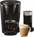 Deals List: Keurig K Latte Single Serve K-Cup Pod Coffee Maker w/ Milk Frother