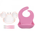 Deals List: RyanLemon Baby Silicone Suction Plates with Silicone Spoons