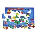 Deals List: Melissa & Doug USA Map Floor Puzzle (51 pcs, 2 x 3 feet)