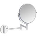 Deals List: Amazon Basics Wall-Mounted Vanity Mirror - 1X/5X Magnification, Chrome