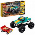 Deals List: LEGO Creator 3in1 Monster Truck Toy 31101 Cool Building Kit for Kids (163 Pieces)
