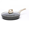 Deals List: Carote 8 Inch Nonstick Skillet Frying Pan with Glass Lid
