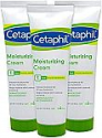 Deals List: Cetaphil Moisturizing Cream for Very Dry, Sensitive Skin, Extra Strength, Fragrance Free Pack of 3