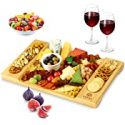 Deals List: Royal Craft Wood Unique Bamboo Cheese Board 15.5x10-in