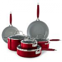 Deals List: Food Network 10-pc. Nonstick Ceramic Cookware Set + Trick or Treat tote