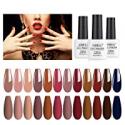 Deals List: 12 Pack AIMEILI Soak Off UV LED Fall Color Gel Nail Polish