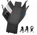 Deals List: Pijaya Car Back Seat Dog Cover Protector w/ Mesh Window