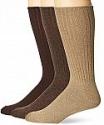 Deals List:  3-pk Chaps Men's Assorted Rib Dress Crew Socks