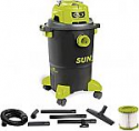 Deals List: Sun Joe SWD5000 5-Gallon 1200-Watt 7 Peak HP Wet/Dry Shop Vacuum HEPA Filtration, Wheeled w/Cleaning Attachments, for Home, Workshops, Pet Hair and Auto Use