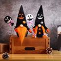 Deals List: 2Pc Wigood Halloween Mr & Mrs Handmade Swedish Gnomes Plush Decor