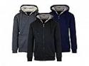 Deals List: 2-Pack Heavyweight Loose Fitting Sherpa Fleece Lined Zip Hoodie